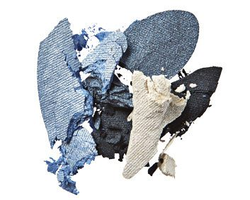 Fall beauty trend: Smoky blues