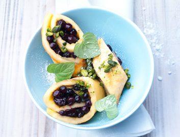 blueberry omelette