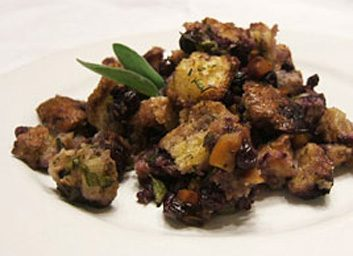 Blueberry stuffing