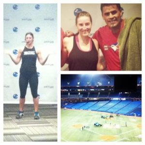 Fitness: Working out with the Toronto Blue Jays