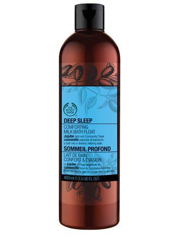 2. The Body Shop Deep Sleep Milk Bath Float