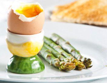 asparagus egg