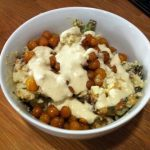 Meatless Monday: Quinoa Bowl with Roasted Chickpeas and Tahini