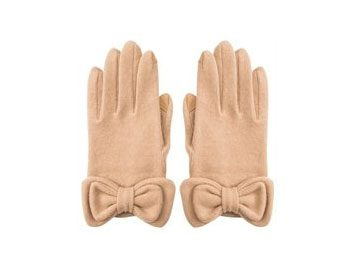 bow gloves