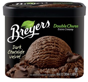 Breyer's Double Churn in Dark Chocolate Velvet