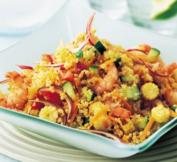 Bulgur Wheat and Shrimp Salad | Best Health Magazine Canada