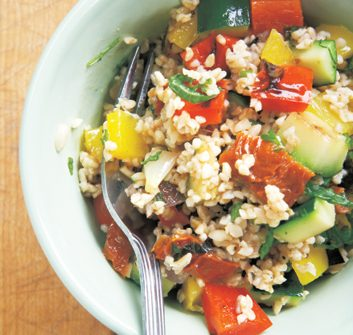 Grilled Vegetable & Bulgur Salad