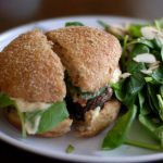 Meatless Monday: Barbecued Portobello Mushroom Burgers & Corn with BBQ Rub