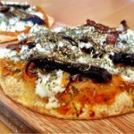 Meatless Monday: Butternut Squash, Portobello Mushroom, Caramelized Onion and Hazelnut Pizza