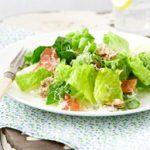 Lightened-Up Creamy Caesar Salad
