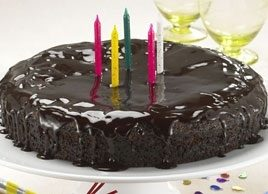 Dairy-Free Chocolate Birthday Cake