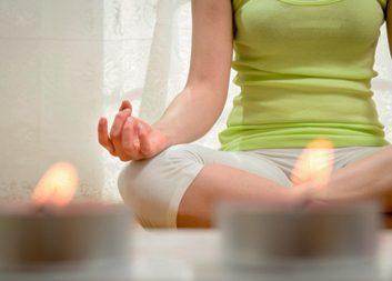 Could candlelit yoga help you sleep better?