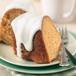 Carrot Cake with Light Cream Cheese Icing