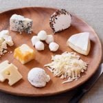 What does 100 calories of cheese look like?
