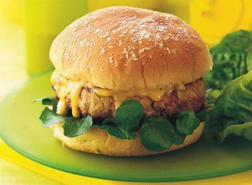 herbed chicken burger 353