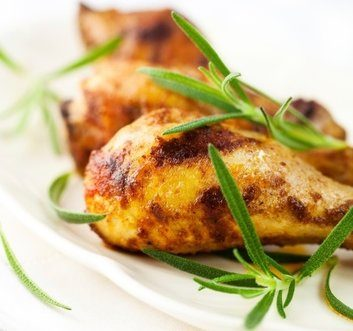 Honey-Mustard and Garlic-Rosemary Chicken