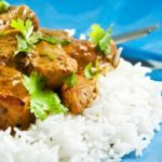 Chicken Curry with Chili Peppers