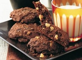 Chocolate Chunk and Nut Cookies