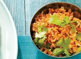Rice and Cilantro Salad