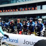 Clara's Big Ride: And, she's off!