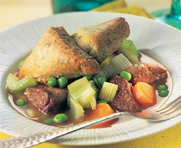 Country Lamb and Vegetable Cobbler