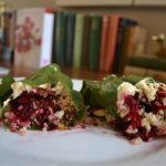 Meatless Monday: Easy Quinoa Collard Wraps with Hummus and Beets