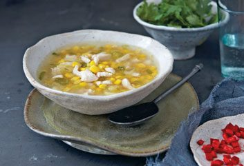 Chinese Chicken & Corn Soup