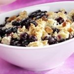 Wild Blueberry Pear Crumble