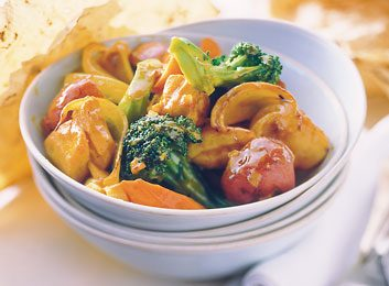 Rich Curried Chicken & Vegetables