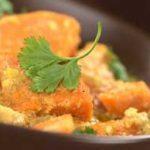 Salmon Sweet-Potato Curry