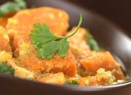 Salmon Sweet-Potato Curry