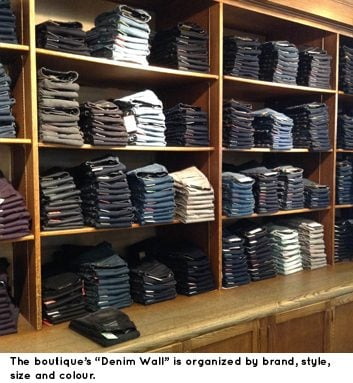 OTR Denim Wall