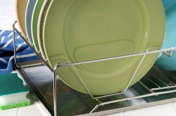 dish rack plates