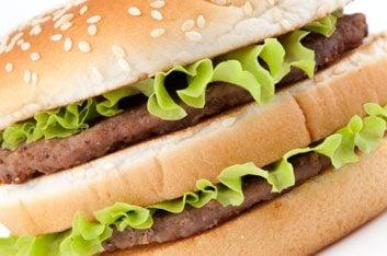 hamburger double patties