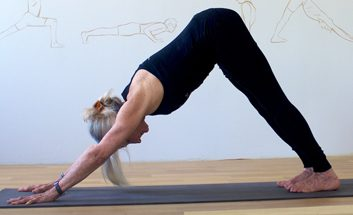 4. Downward dog