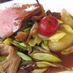 Roast of Duck with Tart Cherry Glaze