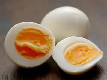 hard-boiled egg