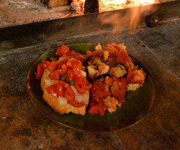 Meatless Monday: Simple Eggplant Gratin