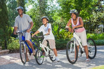 family cycling sports bike