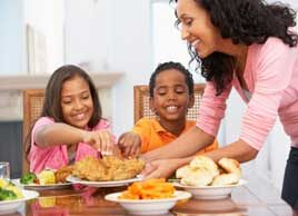 Quick and easy solutions for healthy family dinners