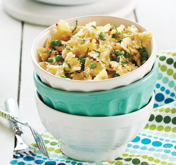 Farfalle with Peas and Mint