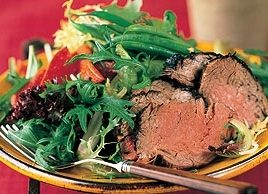 Filet Mignon Salad