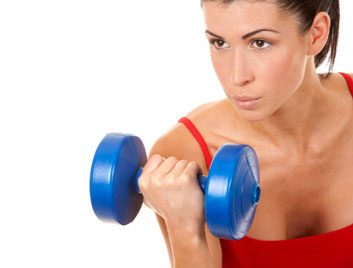 fitness excuse woman weights