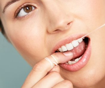 oral health habits flossing