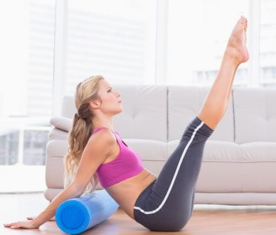 Make friends with a foam roller