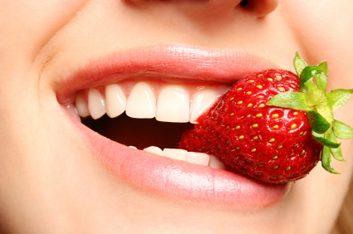 fraise bouche