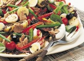 French Tuna and Bell Pepper Salad