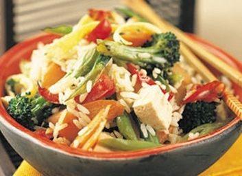 fried rice tofu