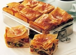 Fruit and Pistachio Baklava