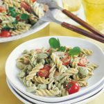 Fusilli Salad with Ham and Lima Beans